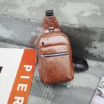 New Men Casual Large Capacity Chest Bag Shoulder Bag