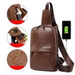 New Men Resistant Anti Theft Chest Bag Crossbody Bag