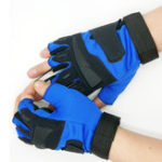 New 1Pair Tactical Glove Half Finger Gloves Slip Resistant Gloves For Cycling Camping Hunting