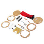 New Digital Tube LED Digital Watch Electronic Clock DIY Kit Microcontroller MCU Watch With Transparent Case
