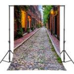 New 5x7FT Vinyl Retro Rock Street Photography Backdrop Background Studio Prop