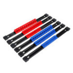 New 6pcs 1/4 3/8 1/2 Inch Socket Organizer Mountable Sliding Holder Rail Rack Tool Storage