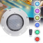 New 35W 360 LED RGB Underwater Swimming Pool Light Remote Control Waterproof