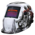 New Solar Power Automatic Dimming Welding Helmet Welder Mask Adjustable Head Band