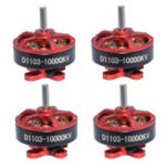 New 4 PCS Aurora RC D1103 1103 10000KV 1-3S Brushless Motor for RC Whoop FPV Racing Drone