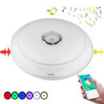 New YouOKLight 36W RGB Dimmable Bluetooth Speaker Music LED Ceiling Light APP Control Lamp AC220V