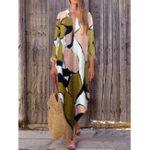 New Bohemian Floral Maxi Dress