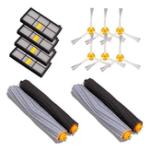 New 4pcs Filter 6pcs Side Brush 4pcs Main Brush Vacuum Cleaner Parts 14PCS Accessories for iRobot Roomba 880 860 870 871 Vacuum Cleaner