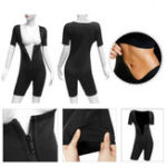 New Womens Shapewear Full Body Sweat Shaper Slimming Fitness Gym Sport Sauna Suit Vest