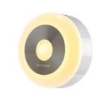 New BlitzWolf® BW-LT15 LED Motion & PIR Infrared Sensor Night Light 3000K Color Temperature 120° Lighting Angle Battery Operated Night Lamp