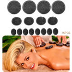 New SPA Manual Massager Hot Stone Warmer Salon Spa Beauty Body