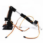New Small Hammer DIY 6DOF Metal RC Robot Arm Kit With MG996 Servos