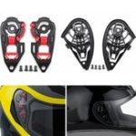 New Motorcycle Helmet Visor Shield Gear Base Plate Set For AGV K1 K3SV K5 / K3 K4
