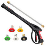 "New MATCC Pressure Washer 4000 PSI Power Spray Car Wash with 19 inch Extendable Wand 1/4"" Quick Connect Nozzles and 5 Nozzle Tips for Car High Pr"