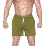 New Mens Sport Breathable Loose Elastic Waist Runnin Shorts