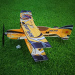 New Mini-biplane Hornet 400mm Wingspan 3D Fixed-wing RC Airplane Aircraft Epp D Board Indoor Outdoor F3P KIT