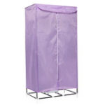 New 900W Hot Air Portable Electric Cloth Dryer Charging Drying Machine w/ Portable Hanger