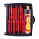 New 8Pcs Insulated Screwdriver Set W/ Magnetic Screwdriver Bits Electrician Repair Tools Kit
