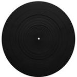 New 12 Inch LP Vinyl Record Silicone Pad Flat Shockproof Bass Clear  For Turntable Phonograph Mat Pad