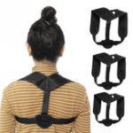 New KALOAD 8-shape Design Adjustable Therapy Posture Corrector Belt Back Shoulder Support Brace Clavicle Prevent Humpback