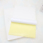 New JS JS-A4P 100 Sheets/Lot A4 Adhesive Sticker Printing Paper A4 White Blank Sticker Paper Label Printer Paper