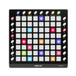 New WORLDE ORCA PAD64 Portable MIDI Controller 64 Drum Pads with USB Cable