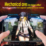 New Bakeey Phone Gamepad Trigger Game Controller PUBG Aim Button Shooter Joystick For iPhone iOS Android Mobile Phone