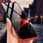 New Bakeey™ 3 in 1 Double Dip 360° Full Cover Hard PC Shockproof Protective Case for Huawei P30