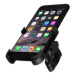 New Aluminum Universal Black Mobile Phone GPS Mount Holder Stand Gold For Motorcycle ATV