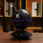 New 6 Inch Self-rotating Globe Magnetic Levitation World Map Colorful LED Night Lamp