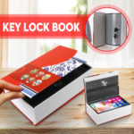 New Secret Dictionary Key Lock Book Money Cash Jewellery Safe Hidden Security Box
