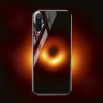 New Bakeey Black Hole Scratch Resistant Tempered Glass Protective Case For Samsung Galaxy A7 2018