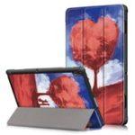 New Tri-Fold Printing Tablet Case Cover for Lenovo Tab E 10 Tablet – Love Tree