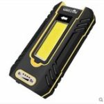 New WARSUN Y37 800LM USB Rechargeable Flashlight 360° Adjustable Shockproof Anti-fall Work Light
