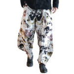 New Mens Printing Ethnic Style Loose Baggy Pants