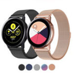 New Bakeey Milanese Stainless Steel Watch Band for Samsung Galaxy Watch Active