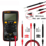 New ANENG M10 6000 Counts Digital Multimeter AC/DC Ammeter Voltmeter Ohm Meter Tester Capacitor Buzzer Multimetro Test with Lead Set