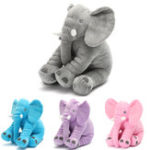 New 15.7″ Stuffed Animal Soft Cushion Baby Sleeping Soft Pillow Elephant Plush Cute Toy for Toddler Infant Kids Gift