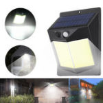 New 96 COB Solar Power Light PIR Motion Sensor Security Outdoor Garden Wall Lamp