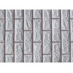 New 10M Wall Paper Brick Stone Rustic Effect Self-adhesive Wall Stickers Home Decor