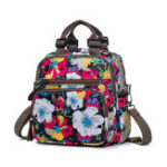 New Women Leisure Outdoor Flower Print Backpack