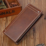 New Men Genuine Leather Vintage Wallet