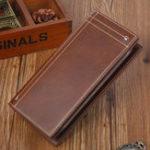 New Men Genuine Leather Vintage Wallet