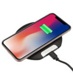 New Ultra Thin 10W Qi Wireless Charger Fast Charging Phone Holder For Qi-enabled Devices Samsung Galaxy S10 Plus iPhone XS Max Huawei P30 Pro Xiaomi Mi9