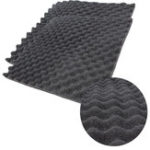 New 50*50*1.5CM Soundproof Foam Acoustic Treatment Sound Proofing Absorbing Cotton Insulation