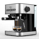New FXUNSHI MD-2009 1.4L 950W Semiautomatic Espresso Milk Bubble Maker Italian Coffee Machine