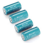 New 8PCS MECO 3.7v 1200mAh Reachargeable CR123A/16340 Li-ion Battery