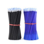 New 100Pcs/Set Office Gel Pen Erasable Refill Rod Magic Erasable Pen Refill 0.5mm Blue Black Ink School Stationery Writing Tool Gift
