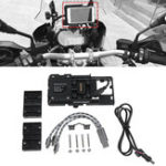 New Motorcycle Mobile Phone Holder Navigation Bracket For BMW R1200GS ADV F700 800GS/Honda CRF1000