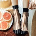 New Women Summer Thin Breathable Middle Tube Socks